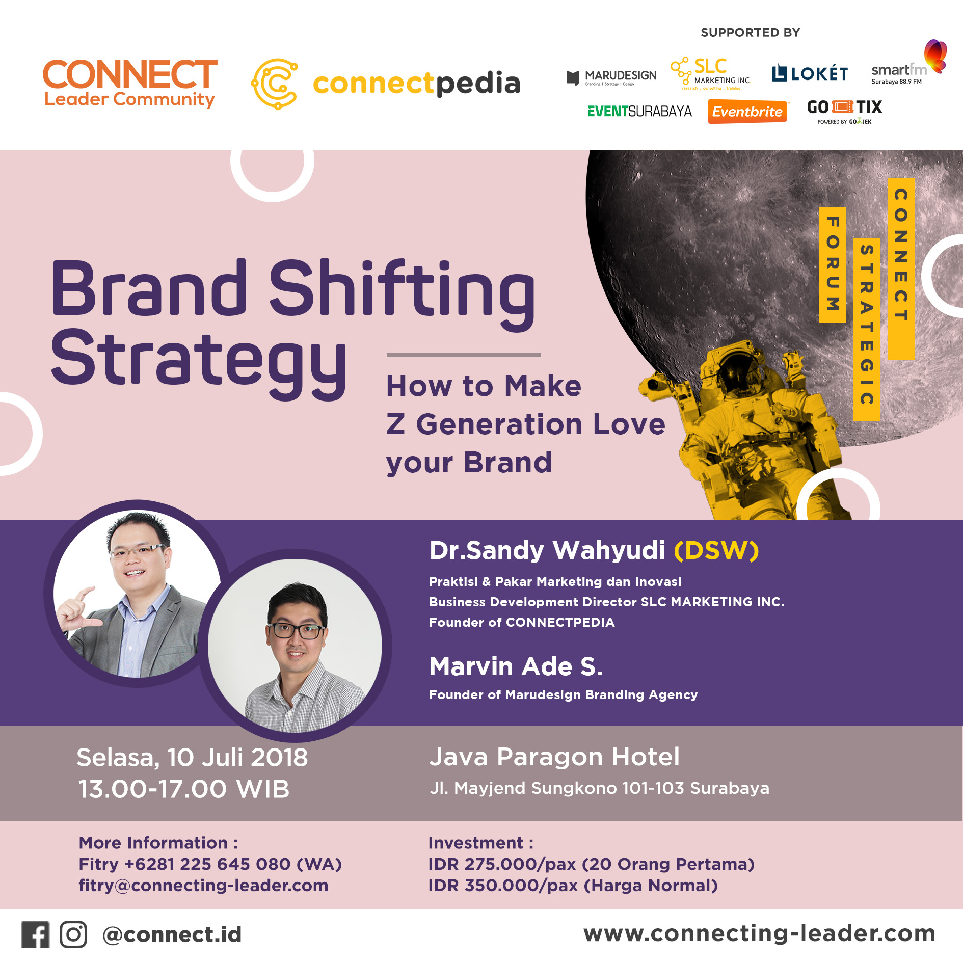 MP STRATEGIC FORUM How to Make Z Generation Love your Brand Connect Leader munity Copy
